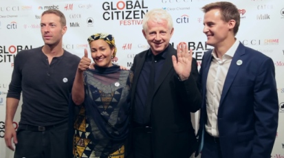 Chris Martin and More at the 2015 Global Citizen Festival